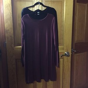 Old Navy Dresses - Old Navy Swing Dress, long sleeve, crew neck, L